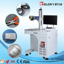 Fibra de marcação a laser e máquina de gravura