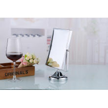 2015 Fashionable Square Metal Beauty Table Top Vanity Mirror