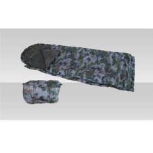 Saco de dormir de camuflagem digital de campo militar