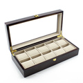 Дополнительный ящик широкий коричневый часы (НХ-A0746)