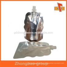 Botella de plástico de aluminio de aluminio