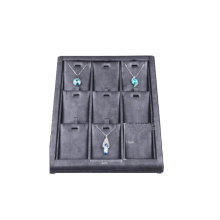 Pop up Counters 9 Slot Black Necklace Display Tray (TY-NBL-9PN)