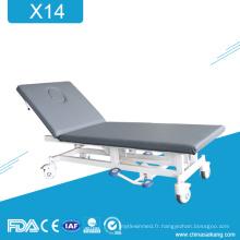 Table d'examen médical hydraulique X14