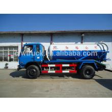 Dongfeng 153 4x2 aspiración de la bomba de vacío de aguas residuales