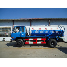 Dongfeng 153 4x2 vacuum pump suction sewage