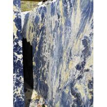 Semi precious big blue sodalite mineral