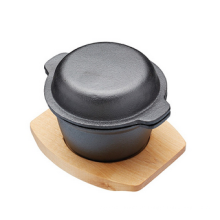 Pre-seasoned Gusseisen Mini Casserole Dish