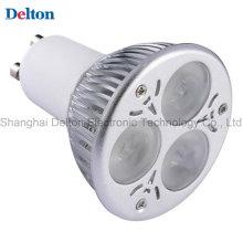 3W GU10 luz de la base del punto del LED (DT-SD-001)