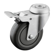 Total de bloqueo de freno rueda hueco kingpin ruedas de la rueda