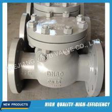 Pn25 Dn150 Swing válvula de retenção com aço carbono Material