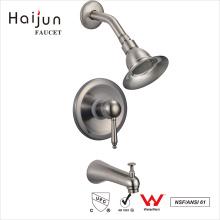 Haijun 2017 alta calidad solo mango en la pared grifo de la ducha termostática