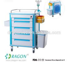 Trole médico do tratamento do ABS dos primeiros socorros DW-FC001