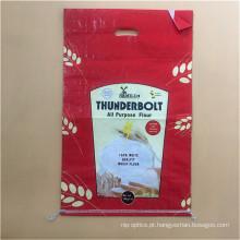 Saco de arroz laminado de PP com 25kg
