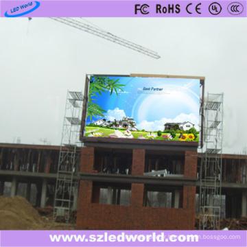 Texte, graphique et vidéo de panneau d'affichage visuel extérieur de P8 LED