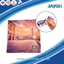 Microfiber Fabric Embroidered Sunglasses Cleaning Cloth