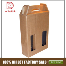 Caja de cartón vintage personalizada de fabricación profesional para botella de 100 ml