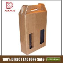 La fabrication professionnelle a personnalisé la boîte vintage de carton pour la bouteille de 100ml