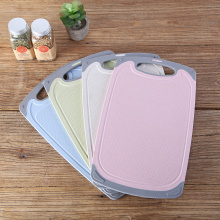Kitchen Wheat Straw Plastic Cutting Board