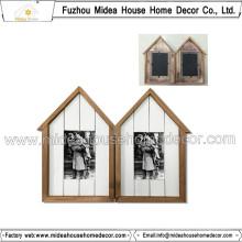 Frame de alta qualidade da foto da madeira contínua dois
