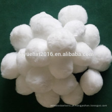 Embalagem de bola de fibra para tratamento de água