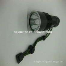 Chinese zoom flashlight led with mount, strong led torch
