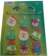 Christmas Erasers For Kids