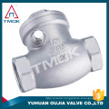 TMOK supplier , water meter outlet side stainless steel swing check valve