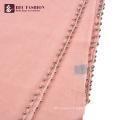 HEC Chinese Popular Cheap All Season Pink Polyester Women Uniform Scarf