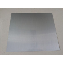 Brushed aluminium laminate sheet