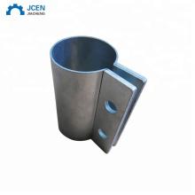 Custom sheet metal pipe clamp