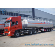 3 Axle 15000 Gallon Carbon Steel Fuel Tank Trailer for Sale