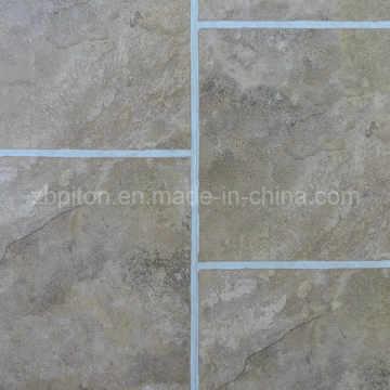 Teja de piso decorativa interior del vinilo del material del PVC