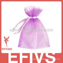 Purple Jewelry Organza Bags Wholesale