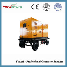 300kw Electric Soundproof Diesel Generator Mobile Power Generation