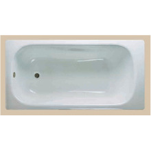 Built-In Enamel Steel Bathtub