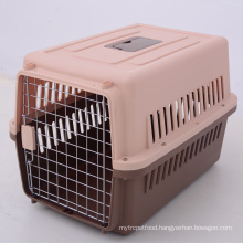 Aviation Plastic Dog Pet Carrier Cage Airline Approved Flight Travel