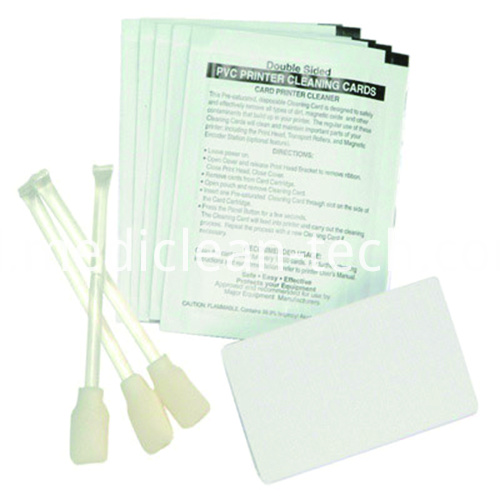 Zebra 105909-169 Cleaning Kit - Cleaning Cards & Swabs