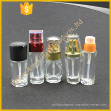 30ml 50ml Cosmetic Cream Sunscreen Glass Lotion Bottle with Pump