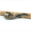 High Quality Wooden Hand Made Durable Soft Handle Smoking Pipe