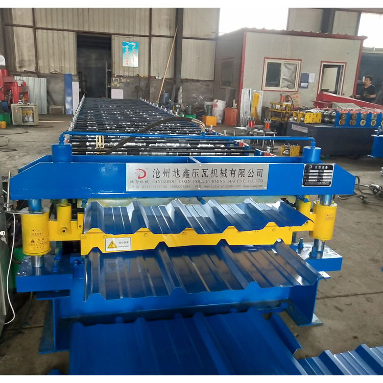 Roof And Wall Panel Sheet Making Machine