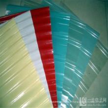 Coloful transparent composé renforcent la feuille ondulée de toiture de FRP de feuille de toit