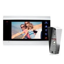BCOM Monitors Transfer Call Function 7 Inch Video Door Phone Intercom System For Villa