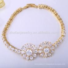 Bracelet bijoux en silicone du Venezuela 18k bracelets en or