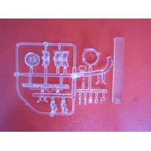 Feuilles en plastique bon marché transparentes de pp, pièces en plastique