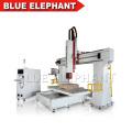 Professionnel fabricant eps mousse cutter bois moule cnc 5 axe en métal