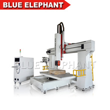 Cnc 5 Axis horizontal and vertical carving, 3d Foam and Mold Engraving Machine 5 Axis Cnc Router for sale