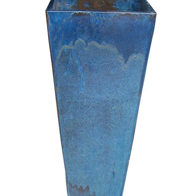 Rectangular flowerpot pottery breathable landscape garden