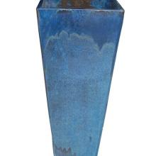 Rechteckiger Blumentopf Keramik atmungsaktiver Landschaftsgarten