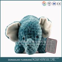 medium 40cm Custom embroidery wholesale elephant plush toy