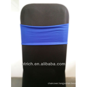 cheap chair covers chair sashes,Gorgeous Spandex Band,Lycra Band,royal blue